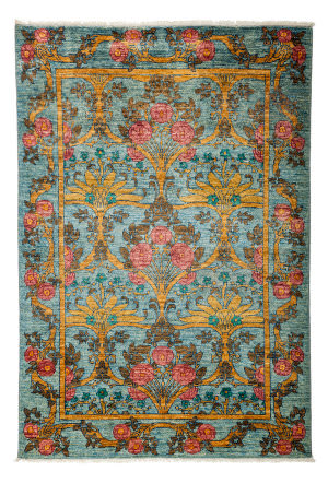 Solo Rugs Arts And Crafts 176394  Area Rug