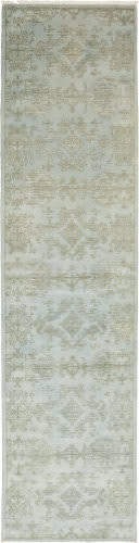 Solo Rugs Eclectic  3'x 12'3'' Runner Rug