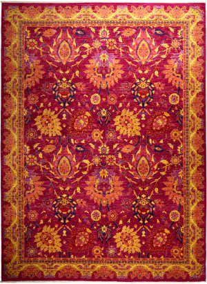 Solo Rugs Eclectic M1868-67  Area Rug