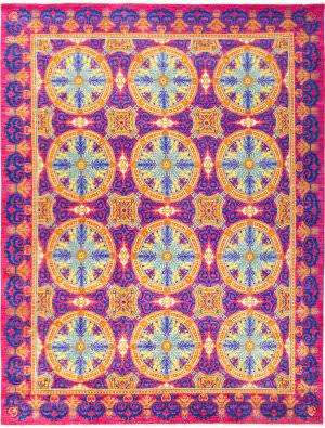 Solo Rugs Suzani M1877-215  Area Rug