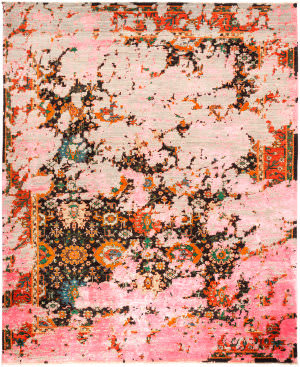 Solo Rugs Eclectic M1877-302  Area Rug