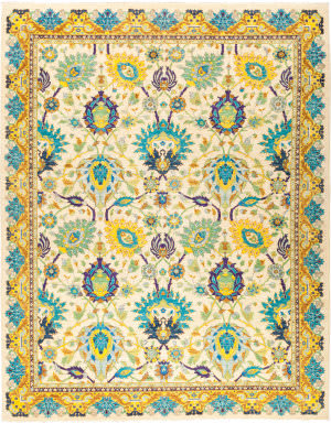 Solo Rugs Eclectic M1877-319  Area Rug