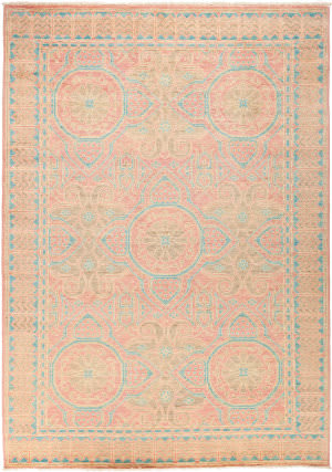 Solo Rugs Eclectic M1877-326  Area Rug