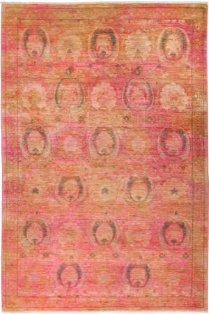 Solo Rugs Vibrance M1877-70  Area Rug