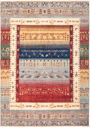 Solo Rugs Tribal M1881-48  Area Rug