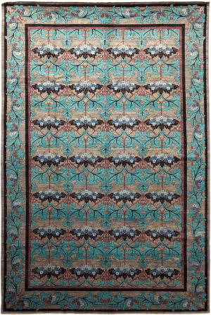 Solo Rugs Arts & Crafts M1889-157  Area Rug