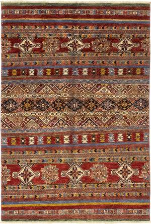 Solo Rugs Azeri  4'2'' x 6'2'' Rug