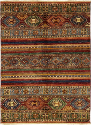 Solo Rugs Azeri M1889-308  Area Rug