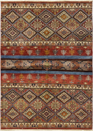 Solo Rugs Azeri  4'3'' x 5'10'' Rug