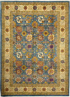 Solo Rugs Eclectic M1889-69  Area Rug