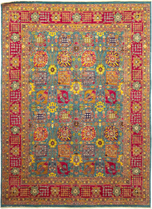 Solo Rugs Eclectic M1889-75  Area Rug