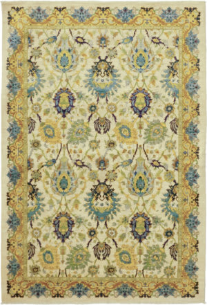 Solo Rugs Eclectic M1889-84  Area Rug