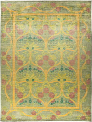 Solo Rugs Arts And Crafts M1890-370  Area Rug