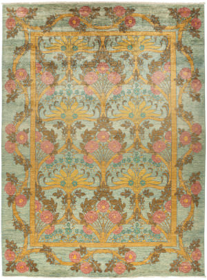 Solo Rugs Arts And Crafts M1890-374  Area Rug