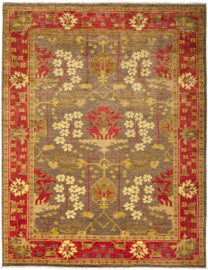 Solo Rugs Arts And Crafts M1890-380  Area Rug