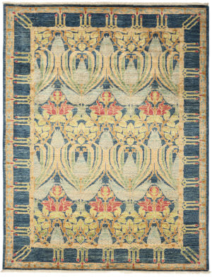 Solo Rugs Arts And Crafts M1890-386  Area Rug