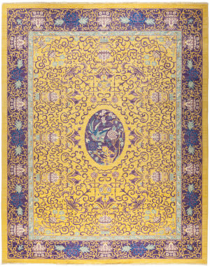 Solo Rugs Eclectic M1890-403  Area Rug