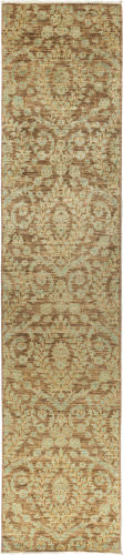 Solo Rugs Eclectic  3'x 13'10'' Runner Rug