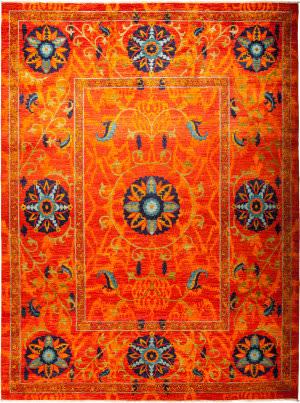 Solo Rugs Suzani M1891-154  Area Rug