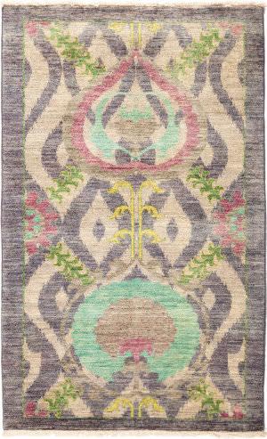 Solo Rugs Suzani M1891-259  Area Rug