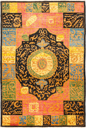 Solo Rugs Kaitag M1891-399  Area Rug