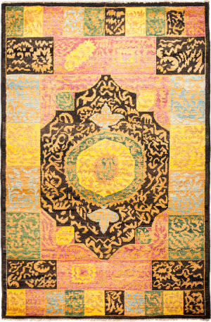 Solo Rugs Kaitag M1891-402  Area Rug