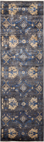 Solo Rugs Eclectic  3' x 9'9'' Runner Rug