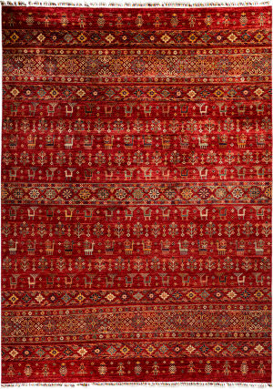 Solo Rugs Tribal M1898-224  Area Rug