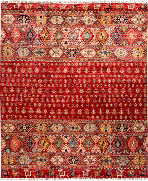 Solo Rugs Tribal M1898-243  Area Rug