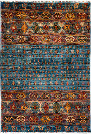 Solo Rugs Tribal M1898-245  Area Rug