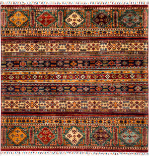 Solo Rugs Tribal M1898-253  Area Rug