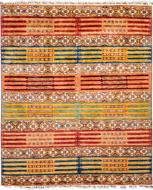 Solo Rugs Tribal M1898-261  Area Rug