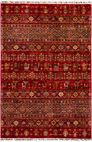 Solo Rugs Tribal M1898-265  Area Rug