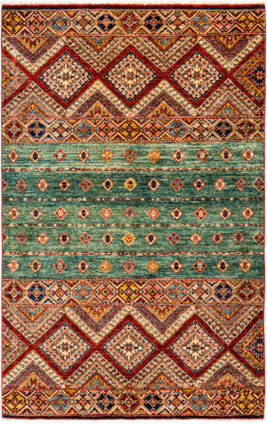 Solo Rugs Tribal M1898-268  Area Rug