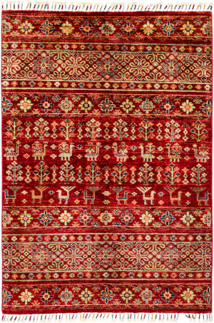 Solo Rugs Tribal M1898-270  Area Rug