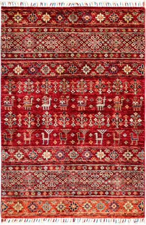Solo Rugs Tribal M1898-276  Area Rug