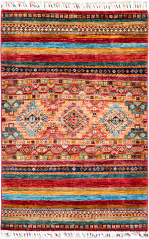 Solo Rugs Tribal M1898-283  Area Rug
