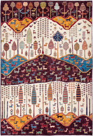 Solo Rugs Tribal M1898-308  Area Rug