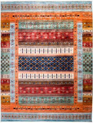 Solo Rugs Tribal M1898-355  Area Rug