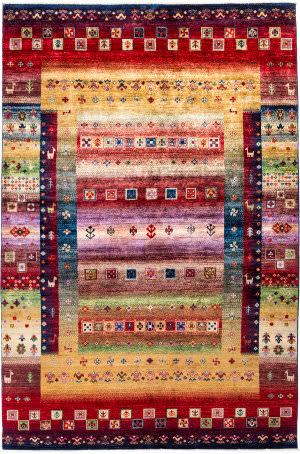 Solo Rugs Tribal M1898-358  Area Rug