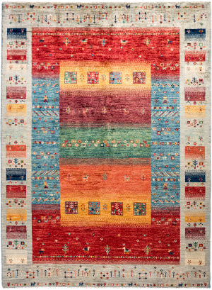 Solo Rugs Tribal M1898-375  Area Rug