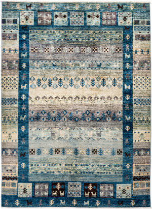 Solo Rugs Tribal M1898-376  Area Rug
