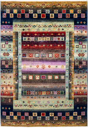 Solo Rugs Tribal M1898-378  Area Rug