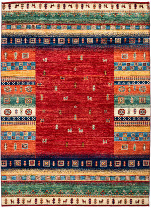 Solo Rugs Tribal M1898-381  Area Rug
