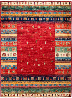 Solo Rugs Tribal M1898-388  Area Rug