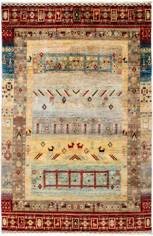 Solo Rugs Tribal M1898-390  Area Rug