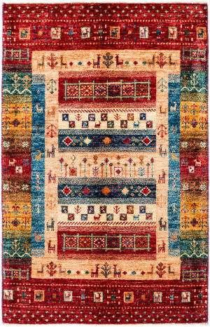 Solo Rugs Tribal M1898-398  Area Rug