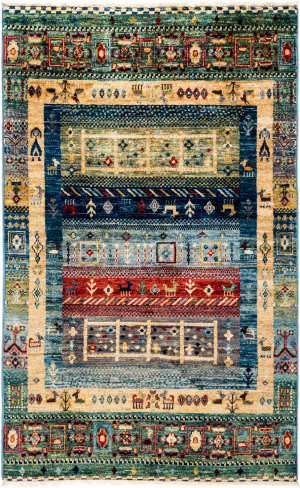 Solo Rugs Tribal M1898-402  Area Rug