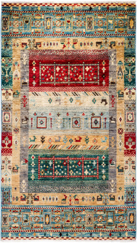Solo Rugs Tribal M1898-404  Area Rug