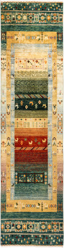 Solo Rugs Tribal M1898-412  Area Rug